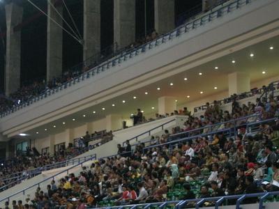 Inside Of Palaran Stadium