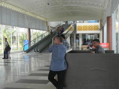 Departure Terminal At Sultan Syarif Kasim II Airport