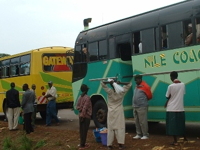 The Buses Enroute To Pakwach