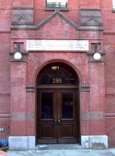The Entrance To 295 East 8th Street