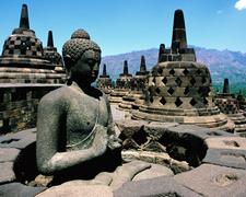 Borobudur Temple In Yogyakarta