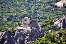 Baltit Fort View From Duikar