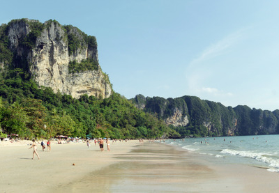 Ao  Nang Beach Panorama  1