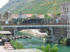 The Old Bridge Undergoing Reconstruction