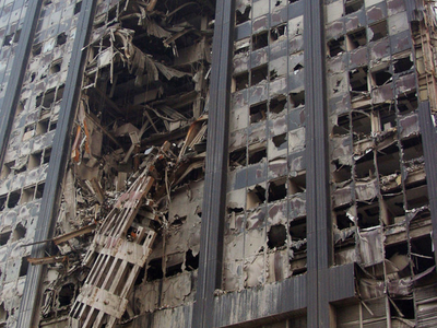 Collapsing World Trade Center