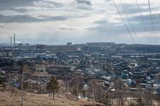 Industrial Panorama In Irkutsk