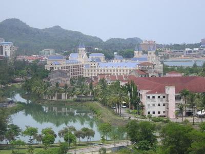 Kuah  Town