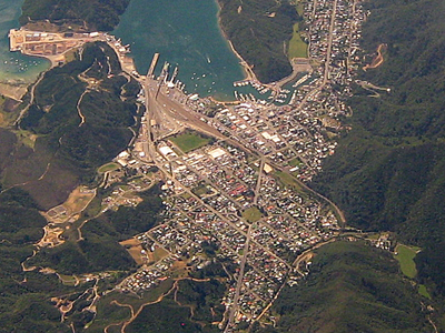 Picton  With  Rail  And  Port  Connection