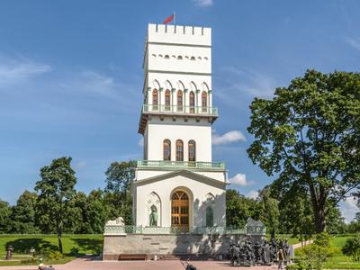 White Tower In Tsarskoe  Selo