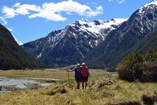Mt Aspiring National Park Hiking