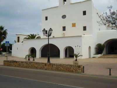 The  Center Of  San  Jose  Ibiza