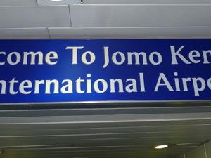 Wel Come To Jomo Kenyatta International Airport
