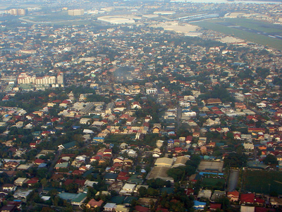 Aerial View Of Paraaque City