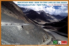Chandratal Mtb Ride Poster 2 Compressed