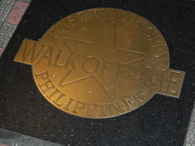Eastwood  City  Walk Of  Fame