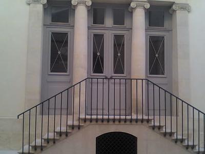 General Moreau Hôtel Entrance