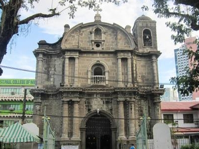 Fileview Of Poblacion Church From Plaza Cristo Rey.jpg
