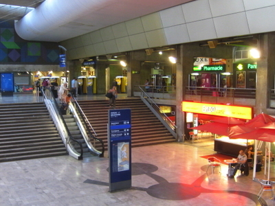 Concourse Of The Station