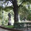 Jean Leclaire's Statue In The Square Des Épinettes