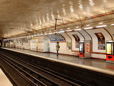 Line 12 Platforms At Solférino