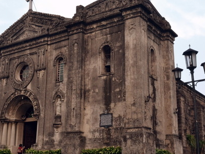 Our  Lady Of  Grace  Church In  Makati .  View