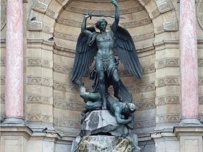 The Statue Of Saint Michael