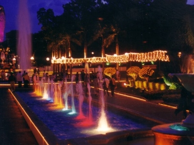 Sentosa Fountains Twilight