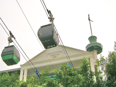Singapore Cable Car Exterior