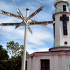 Spanish Lighthouse In Corregidor Island