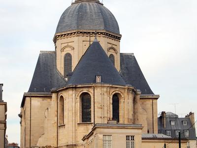 The Church Of Saint-Paul-Saint-Louis