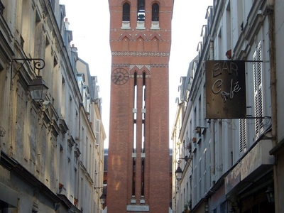 The Clock Tower Of The Church