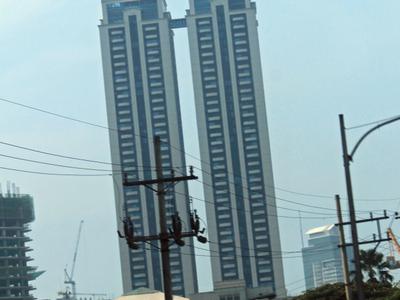 Twin Towers Soaring High