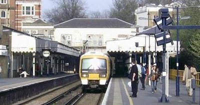Blackheath Station Looking East