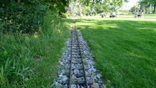 The Track Of The Miniature Railway