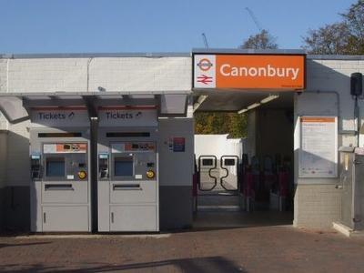 Canonbury Railway Station Entrance