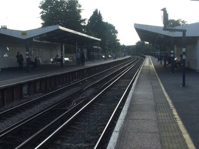 Platforms Looking West