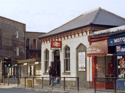 Clapton Railway Station Entrance