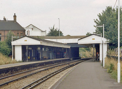Crofton Park Railway Station In 1983
