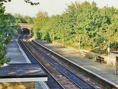 Crouch Hill Station In 1984