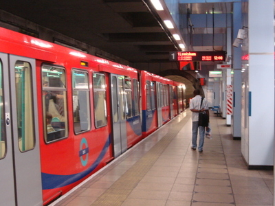 Train Stopped At Platform 1
