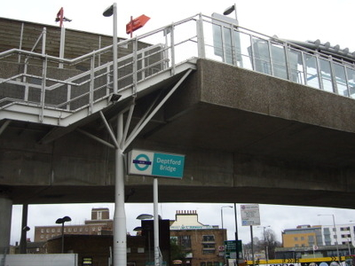 Deptford Bridge DLR Station