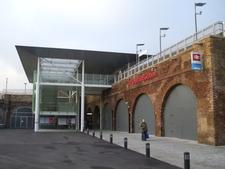 Deptford Station Entrance
