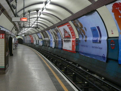 The Eastbound Piccadilly Line Platform