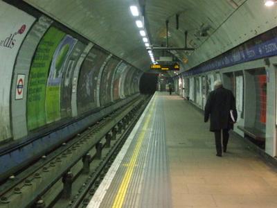 Northbound Victoria Line Platform