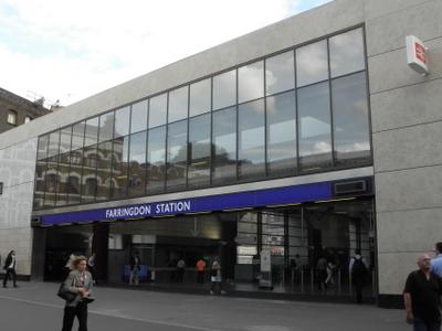 Farringdon Station Building