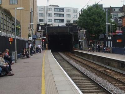 Platforms Looking East