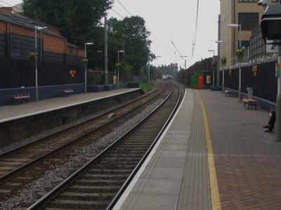 Platforms Looking West
