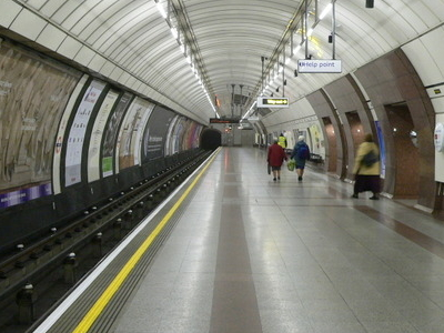 The Extra-wide Southbound Platform
