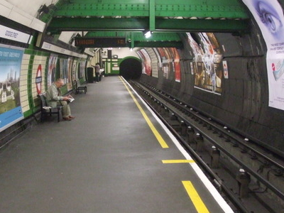 Northbound Platform Looking South