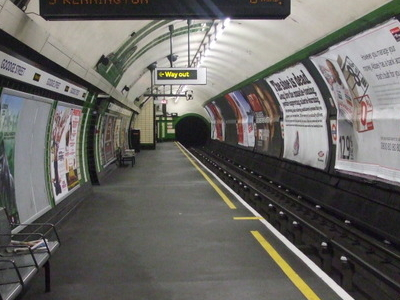 Southbound Platform Looking North